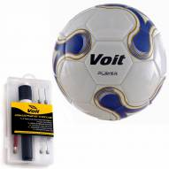 Voit Player Soccer Ball with Ultimate  Inflating Kit - 6 Pack