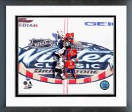 Washington Capitals 2015 Winter Classic Opening Faceoff Framed Photo