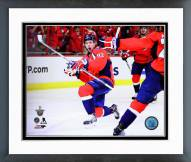 Washington Capitals Evgeny Kuznetsov 2014-15 Playoff Action Framed Photo