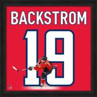 Washington Capitals Nicklas Backstrom Uniframe Framed Jersey Photo