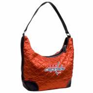 Washington Capitals Quilted Hobo Handbag