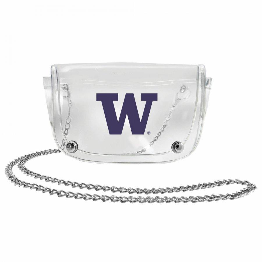 Washington Huskies Clear Waistpack