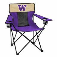 Washington Huskies Elite Tailgating Chair