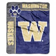 Washington Huskies Jersey Mesh Raschel Throw Blanket