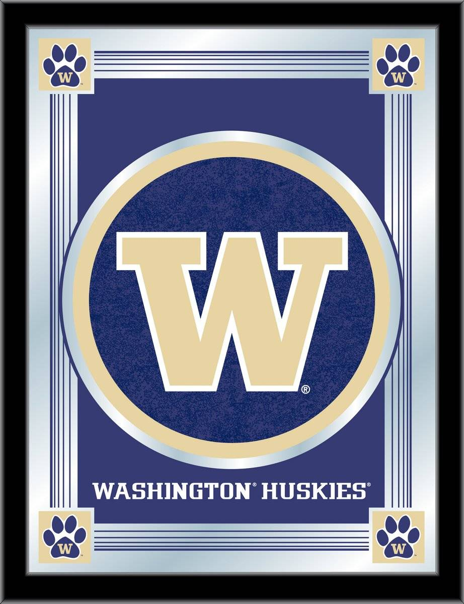 Washington Huskies Logo Mirror