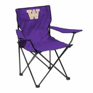 Washington Huskies Quad Folding Chair