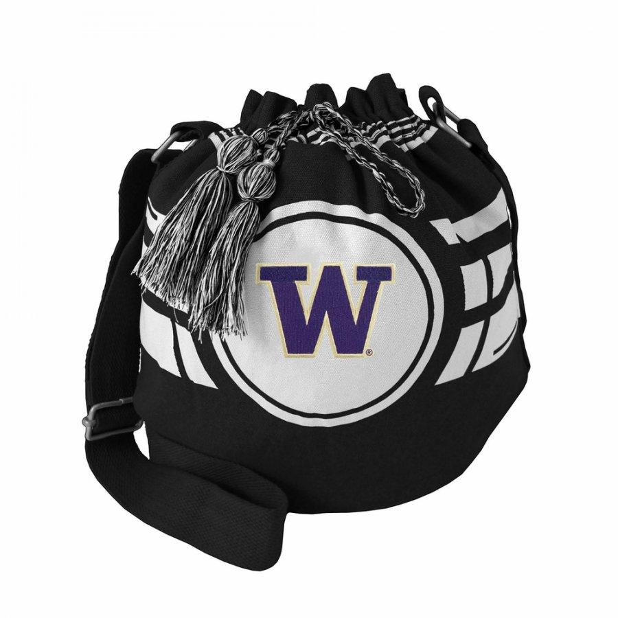 Washington Huskies Ripple Drawstring Bucket Bag