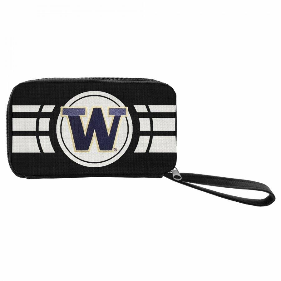 Washington Huskies Ripple Zip Wallet
