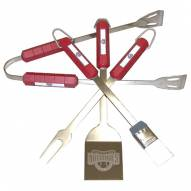 Washington Nationals 4-Piece Stainless Steel BBQ Set
