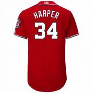 Washington Nationals Bryce Harper Authentic Scarlet Alternate Baseball Jersey