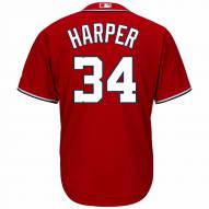Washington Nationals Bryce Harper Replica Scarlet Alternate Baseball Jersey