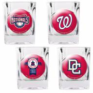 Washington Nationals Collector's Shot Glass Set