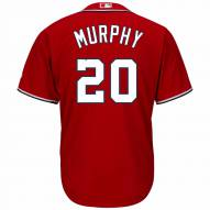 Washington Nationals Daniel Murphy Replica Scarlet Alternate Baseball Jersey