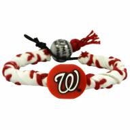 Washington Nationals Frozen Rope Baseball Bracelet