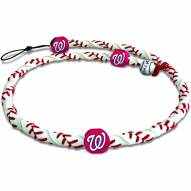 Washington Nationals Frozen Rope Baseball Necklace