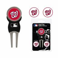 Washington Nationals Golf Divot Tool Pack