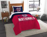 Washington Nationals Grand Slam Twin Comforter Set