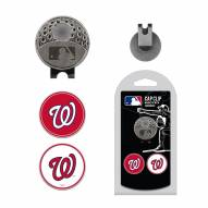 Washington Nationals Hat Clip & Marker Set