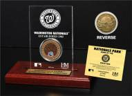 Washington Nationals Infield Dirt Etched Acrylic