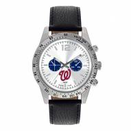 Washington Nationals Men's Letterman Watch