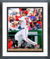 Washington Nationals Nate McLouth 2014 Action Framed Photo