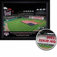 Washington Nationals Personalized Framed Stadium Print