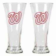 Washington Nationals Premiere Pilsner Glass Set