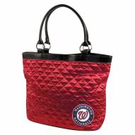 Washington Nationals Quilted Tote Bag