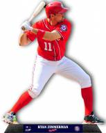 Washington Nationals Ryan Zimmerman Standz Photo Sculpture