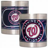 Washington Nationals Stainless Steel Hi-Def Coozie Set