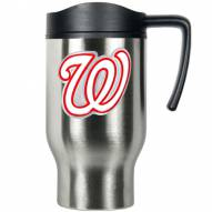 Washington Nationals Stainless Steel Travel Mug