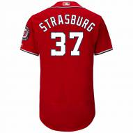 Washington Nationals Stephen Strasburg Authentic Scarlet Alternate Baseball Jersey