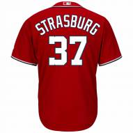 Washington Nationals Stephen Strasburg Replica Scarlet Alternate Baseball Jersey