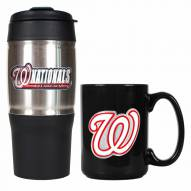 Washington Nationals Travel Tumbler & Coffee Mug Set