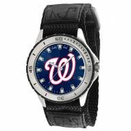 Washington Nationals Veteran Velcro Mens Watch