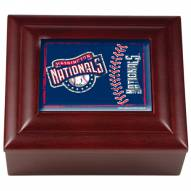 Washington Nationals Wood Keepsake Box