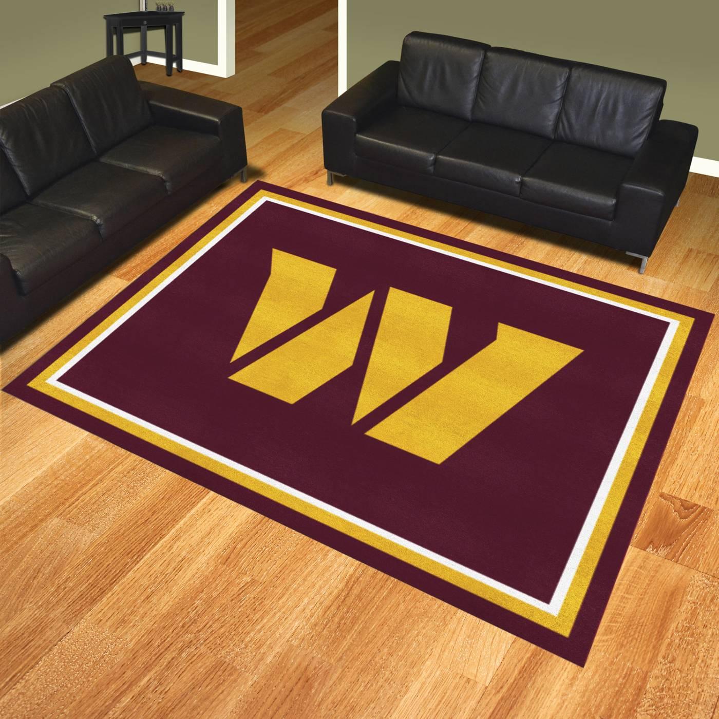 Washington Redskins 8 X 10 Area Rug