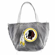 Washington Redskins Black NFL Vintage Tote Bag