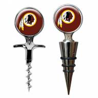 Washington Redskins Cork Screw & Wine Bottle Topper Set