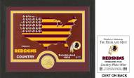 Washington Redskins Country Bronze Coin Photo Mint