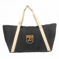 Washington Redskins Crest Chevron Weekender Bag