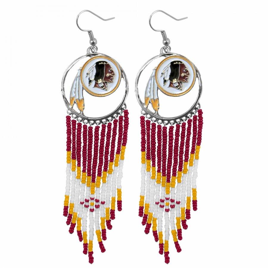 Washington Redskins Dreamcatcher Earrings
