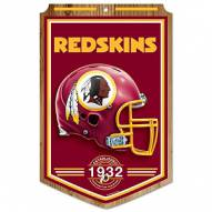 "Washington Redskins ""Established"" Wood Sign"