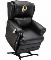 Washington Redskins Leather Coach Lift Recliner