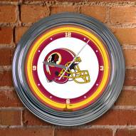Washington Redskins NFL Neon Wall Clock