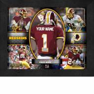 Washington Redskins Personalized Framed Action Collage