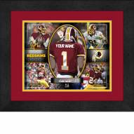 Washington Redskins Personalized 13 x 16 Framed Action Collage