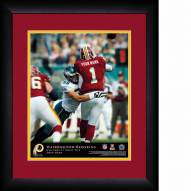 Washington Redskins Personalized 13 x 16 NFL Action QB Framed Print