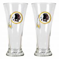Washington Redskins Premiere Pilsner Glass Set