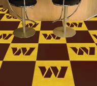Washington Redskins Team Carpet Tiles